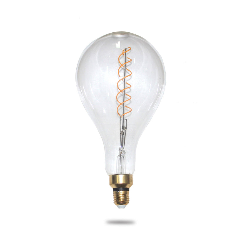 jumbo oversized filament light globe 4w E27 double spiral