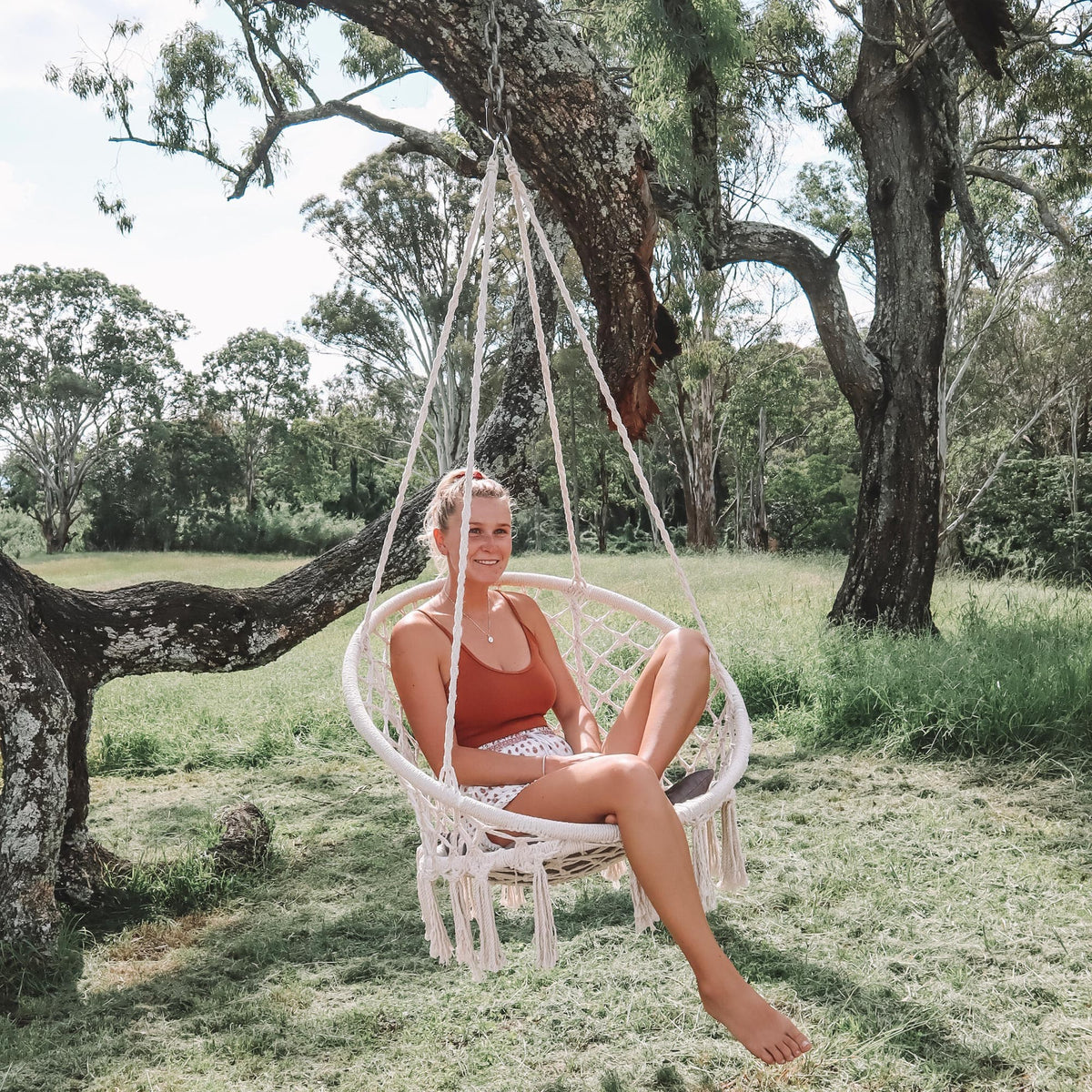 How To Hang A Hammock Chair From Ivory Deene
