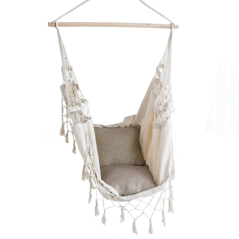 provincial hammock chair on a white background