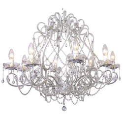 large french white provincial cream chandelier