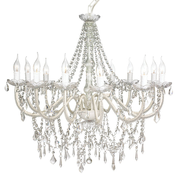 Chandelier Large 12 Light French Provincial Cassie