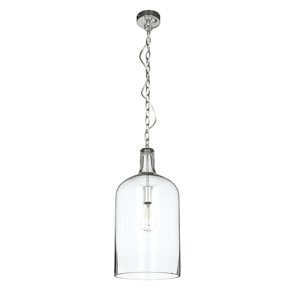Glass Jug Pendant Light - Kendal