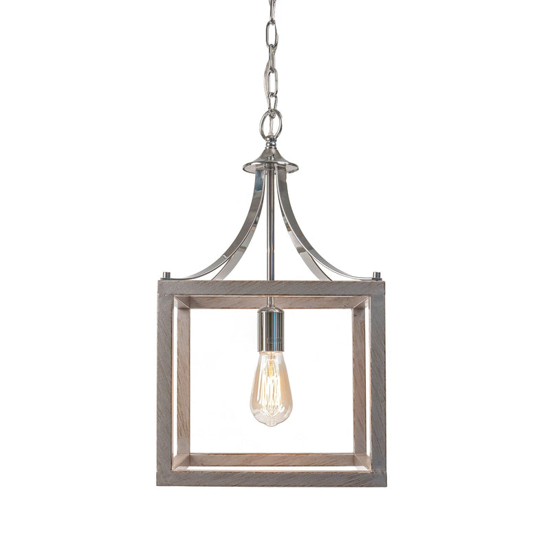 hampton box pendant kitchen dining ceiling lantern light on a white background