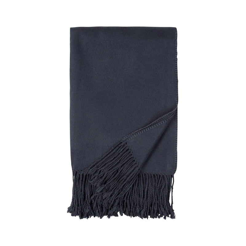 Luxury Bamboo Throw Blanket - Navy