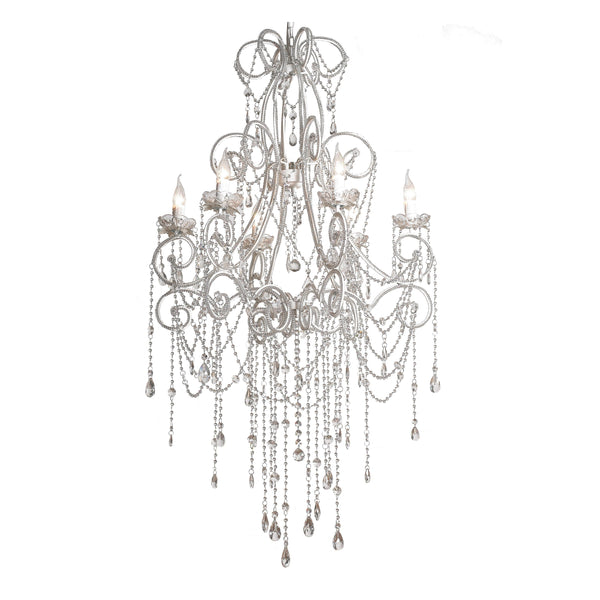 Large Chandelier on white background