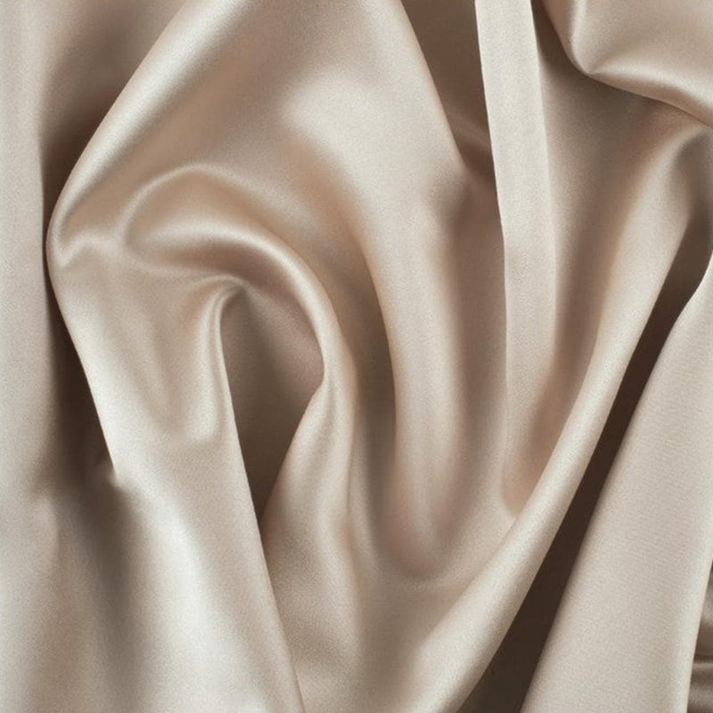 luxury satin detail in champagne colour