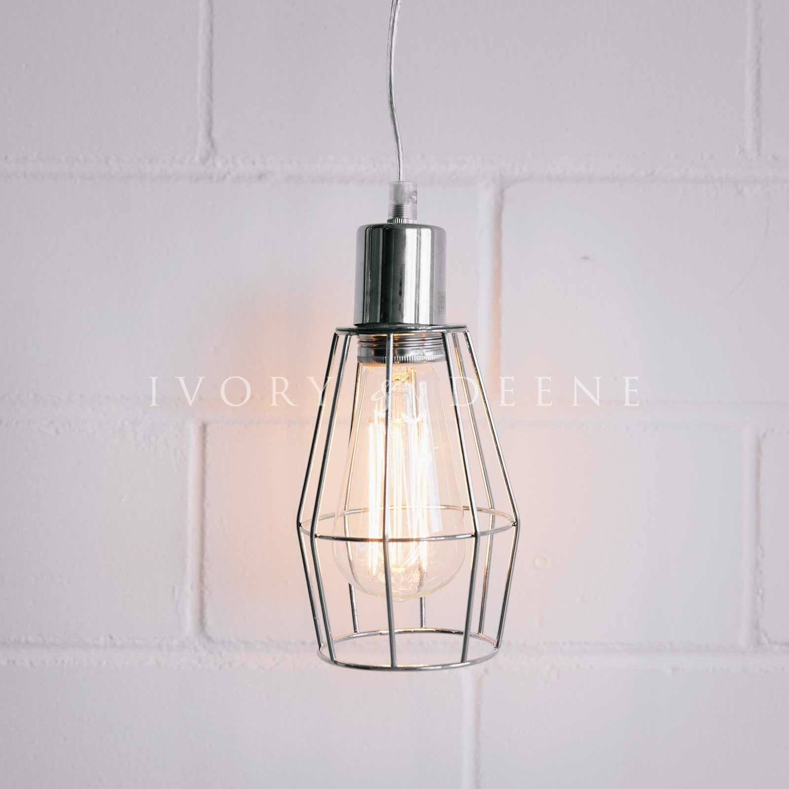 chrome-industrial-wire-pendant-light-2