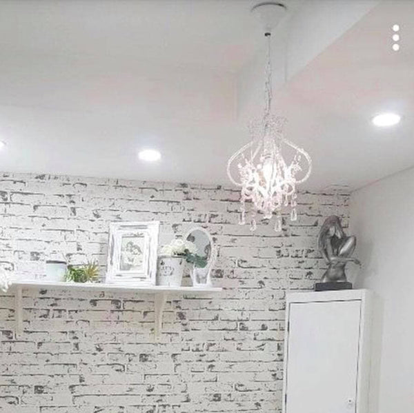 Darling Chandelier - White