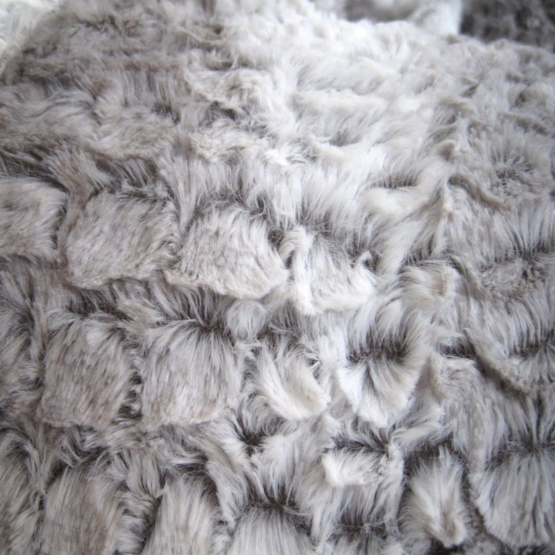 Husky Fur Bean Bag - Silver Grey - 2 Sizes Available