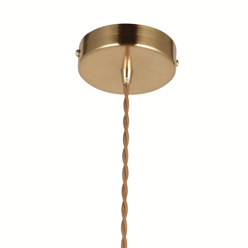 gold ceiling fixture for glass pendant light