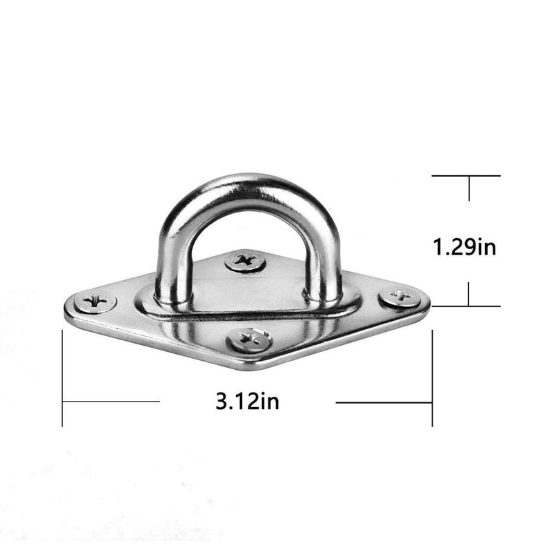 strong hammock hanging ceiling bracket made of stainless steel
