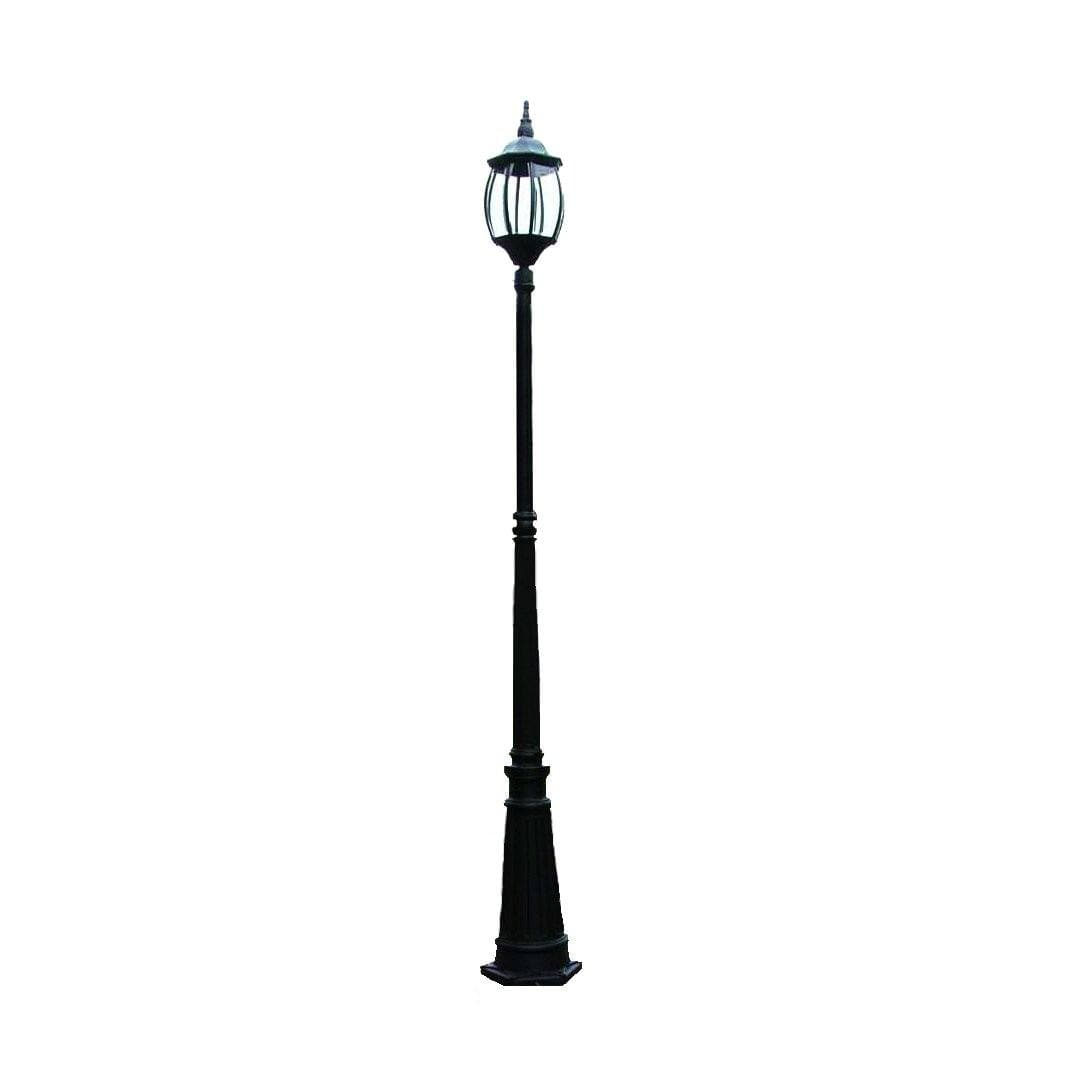 Garden lamp post black ivory deene pty ltd garden lamp post black aloadofball Image collections