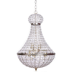 large palace empire chandelier pendant light on a white background