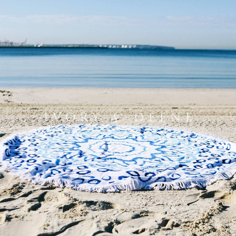 round-beach-towel-ivory-and-deene-aqua-white-watercolour