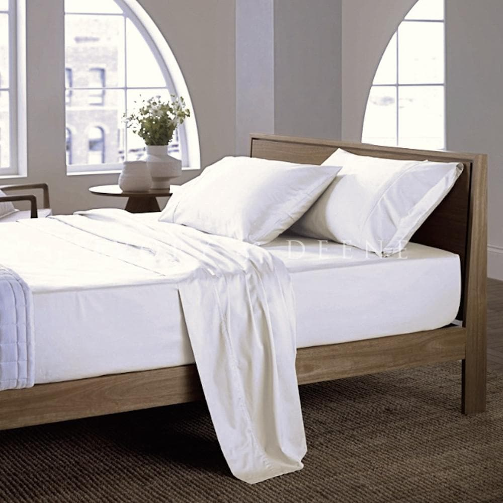Bamboo Sheet Set 400TC White Luxury 100% Bamboo