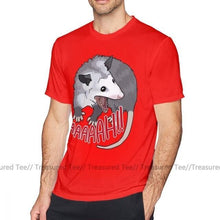 Load image into Gallery viewer, Scream T Shirt Possum Scream At Own Ass T-Shirt Awesome Beach Tee Shirt Male XXX Short Sleeves Cotton Print Tshirt
