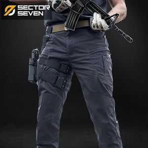 Sector Seven IX8 Waterproof tactical War Game Cargo pants mens silm Casual Pants mens trousers Army military Active pants