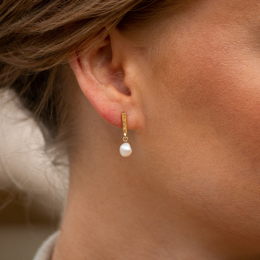 Sincerely Danicka Earrings Collection Angelic Gold
