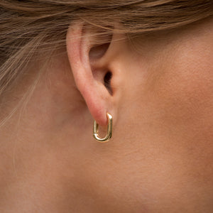 Sincerely Danicka Earrings Collection Chic Gold