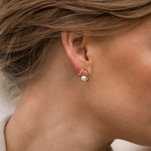 Sincerely Danicka Earrings Collection Elegant Gold