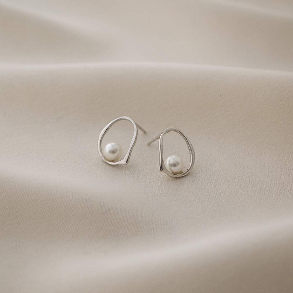 Sincerely Danicka Earrings Collection Elegant Silver
