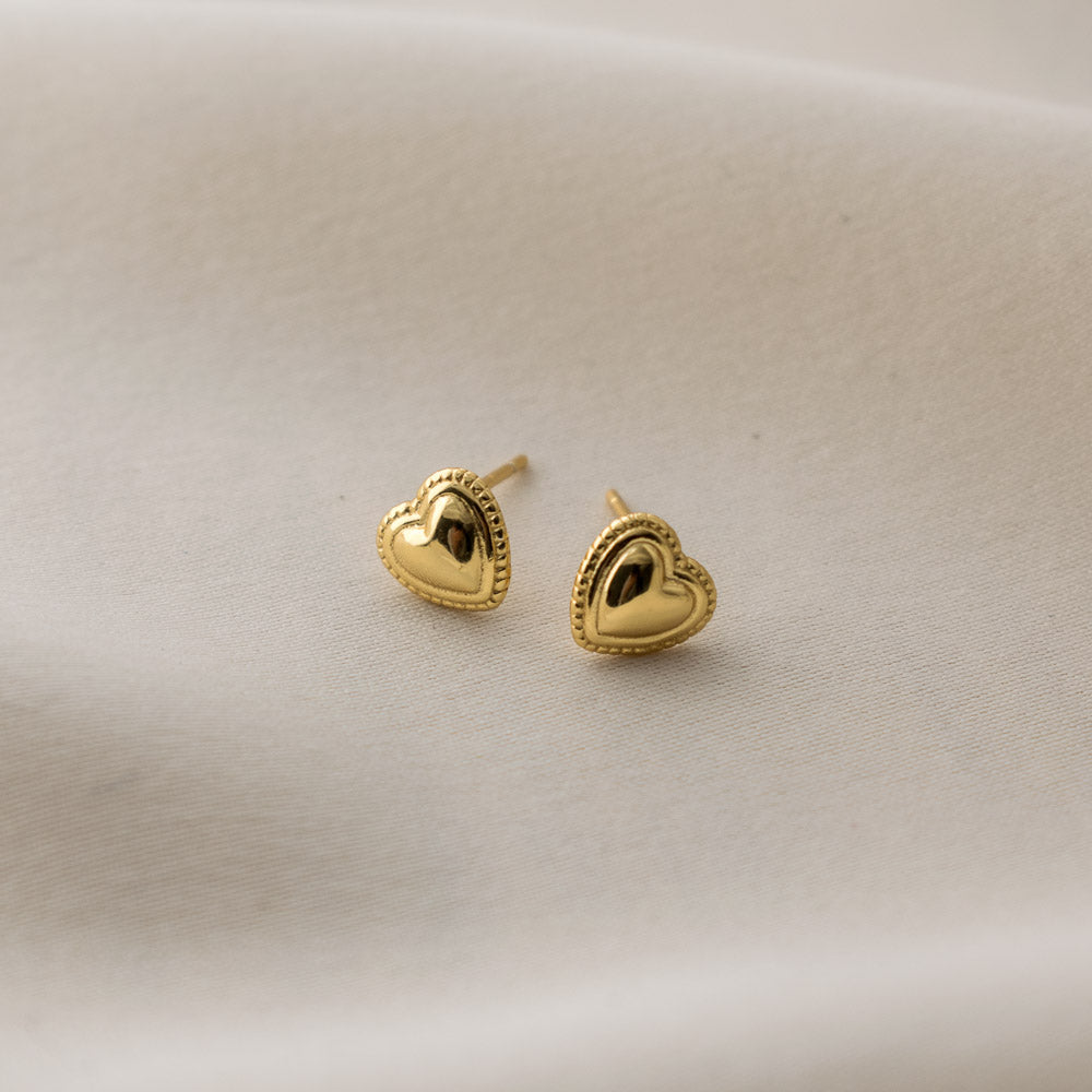Sincerely Danicka Earrings Collection Loved Gold