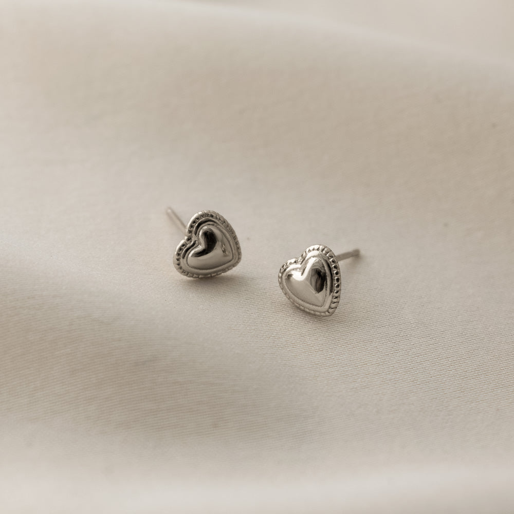 Sincerely Danicka Earrings Collection Loved Silver