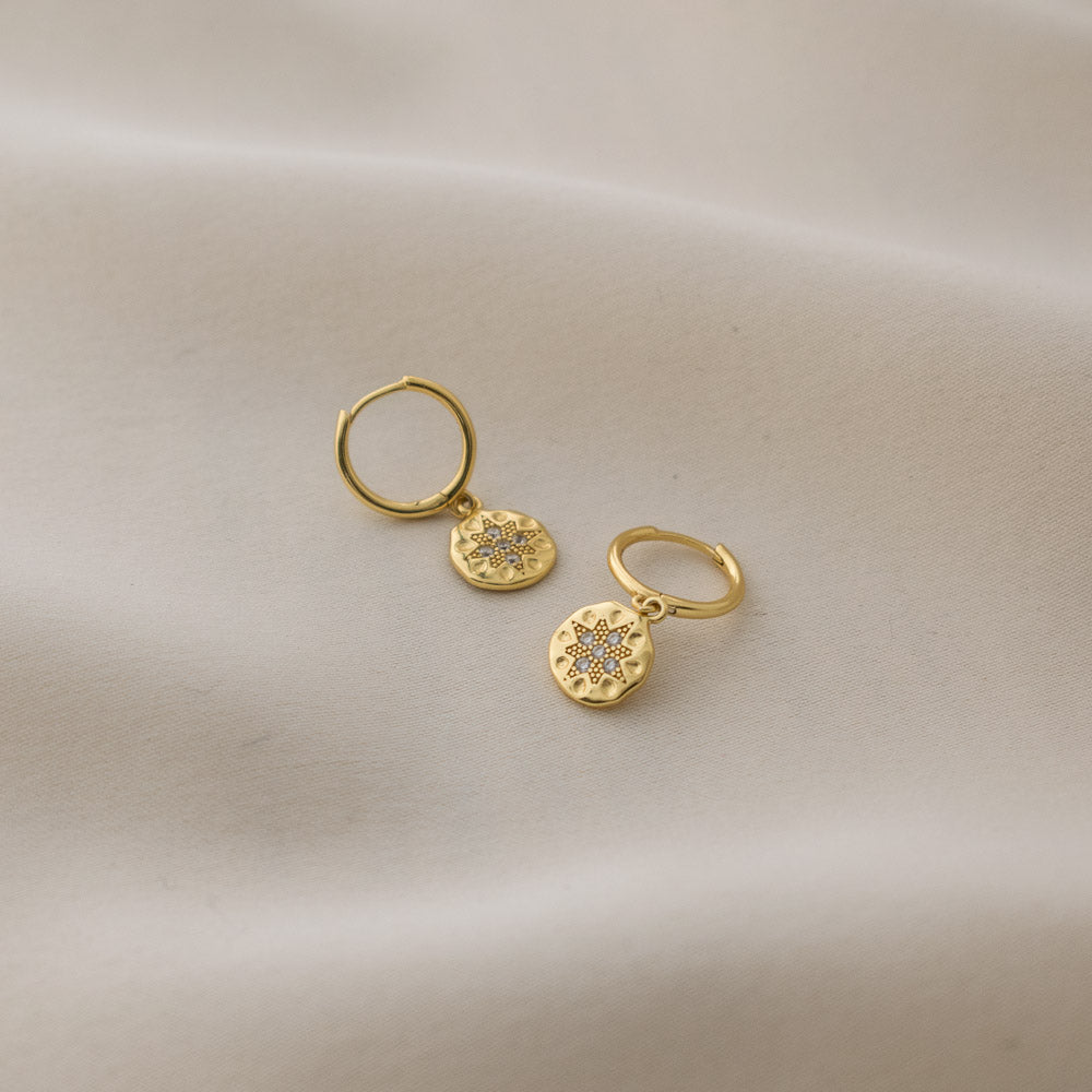 Sincerely Danicka Earrings Collection Radiant Gold