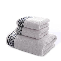 3pcs/set Towel Gifts Advertising Towel 1 Bath Towel + 2 Face Towels For Bathing