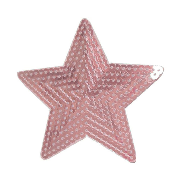 Pink Sequin Star Patch