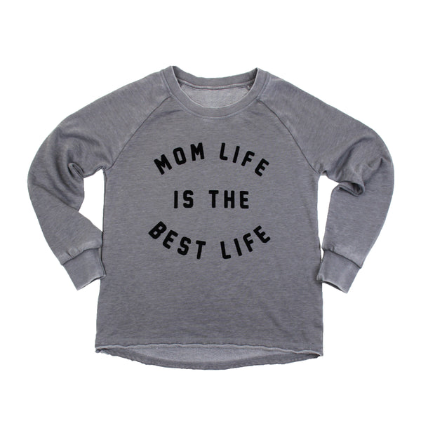 Best Life Flocked Vintage Fleece
