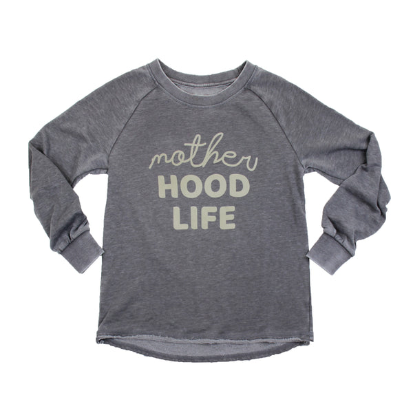 Motherhood Life Flocked Vintage Fleece