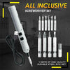Pen-Size Electric USB Charging Screwdriver Set