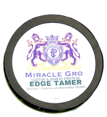 Miracle Hair Growth: Wheat Protein. Castor Edge Control, Gel Control