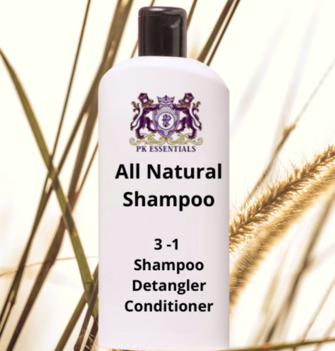 All Natural MOISTURIZING SHAMPOO DETANGLING and Conditioner $18.00