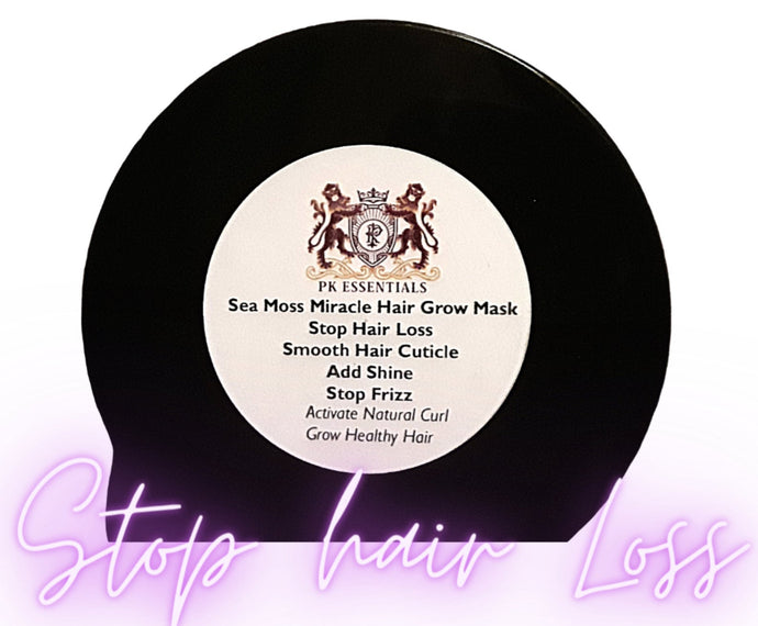 Sea Moss Miracle Grow Hair Mask - Extreme Hair Growth and Natural Curl Activator for Natural Hair