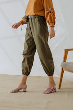 Shawntel Pocket Pants in Olive
