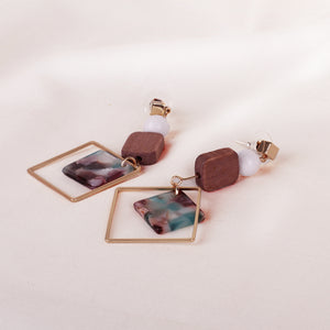 Baleena Block Earrings