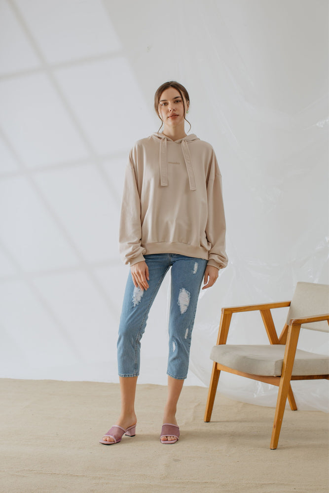 Load image into Gallery viewer, Tifanny Hoodie In Nude