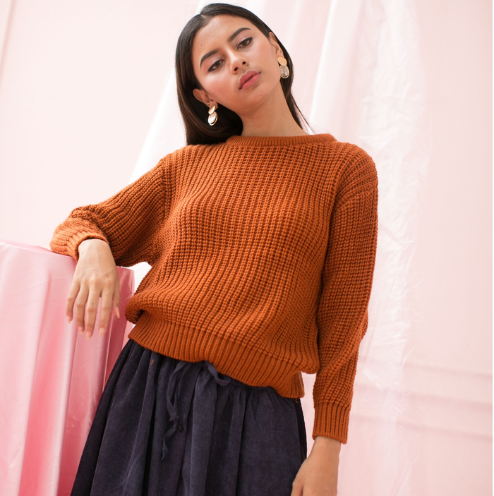 Merril Knit Brick