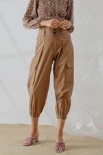 Noella Ring Pants in Brown