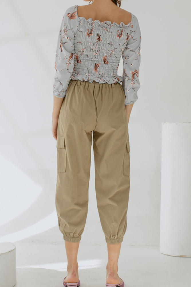 Noella Ring Pants in Olive
