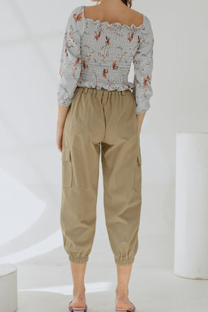 Load image into Gallery viewer, Noella Ring Pants in Olive