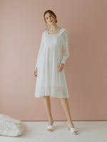Jehane White Smock Dress