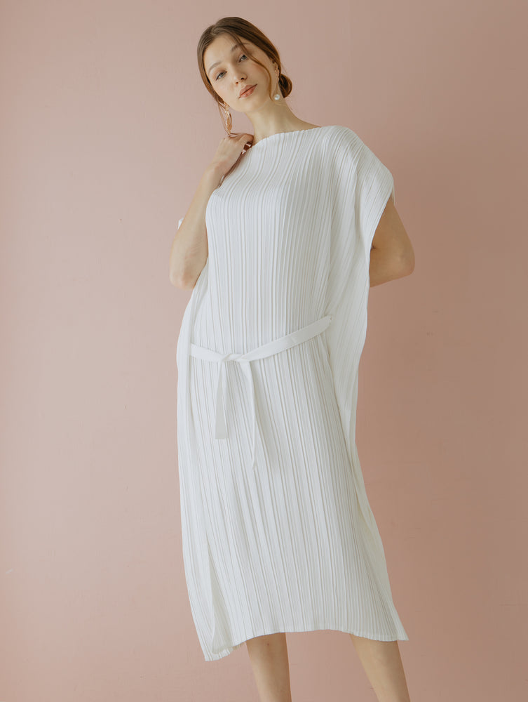 Oryza Pleats Dress