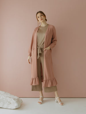 Load image into Gallery viewer, Casbia Long Cardigan Pink