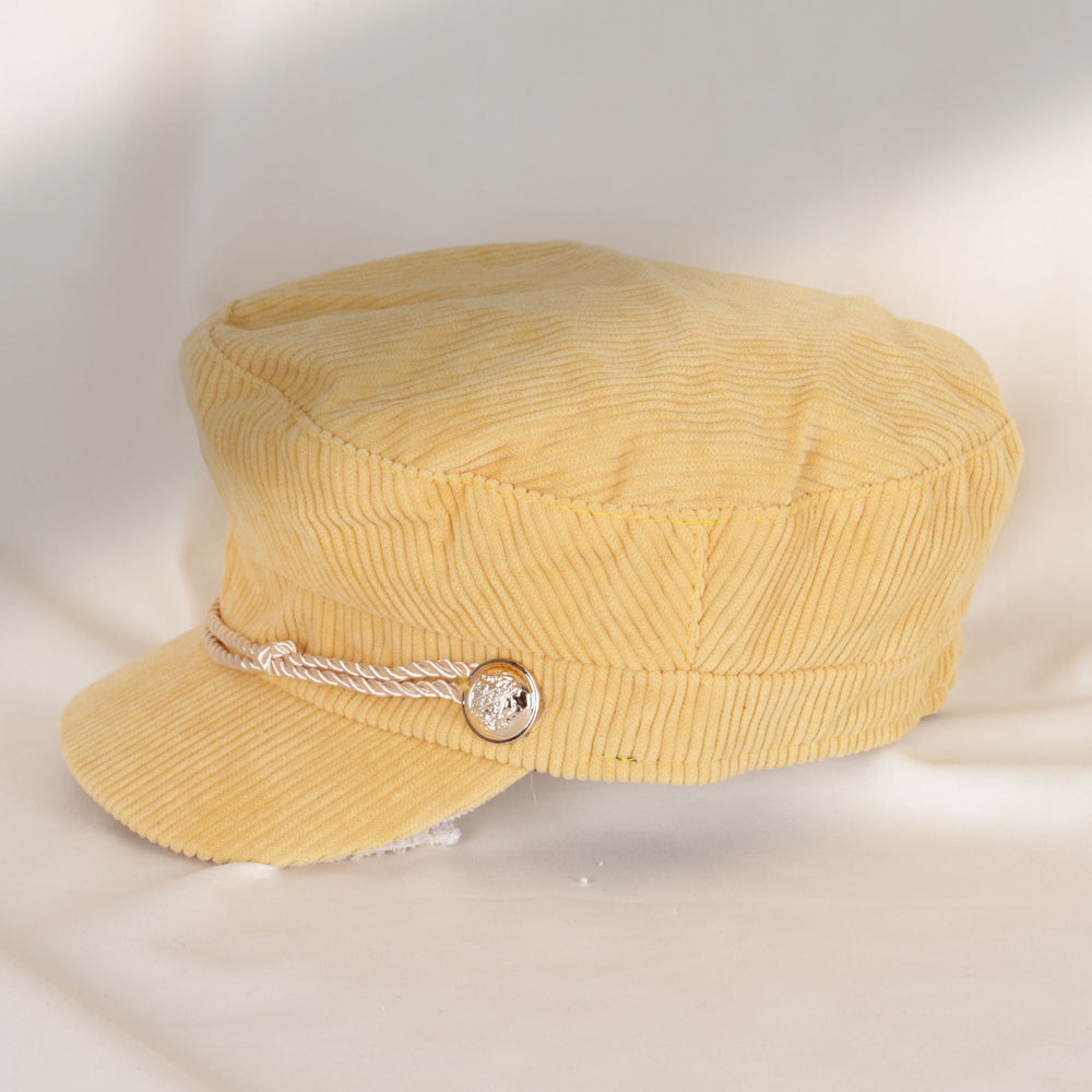 Yellow Military Hat