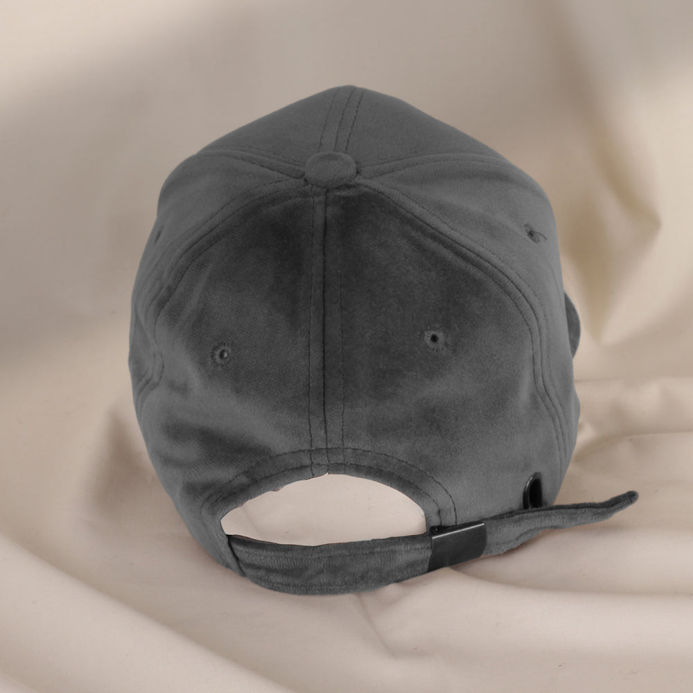 Load image into Gallery viewer, Grey Velvet Hat