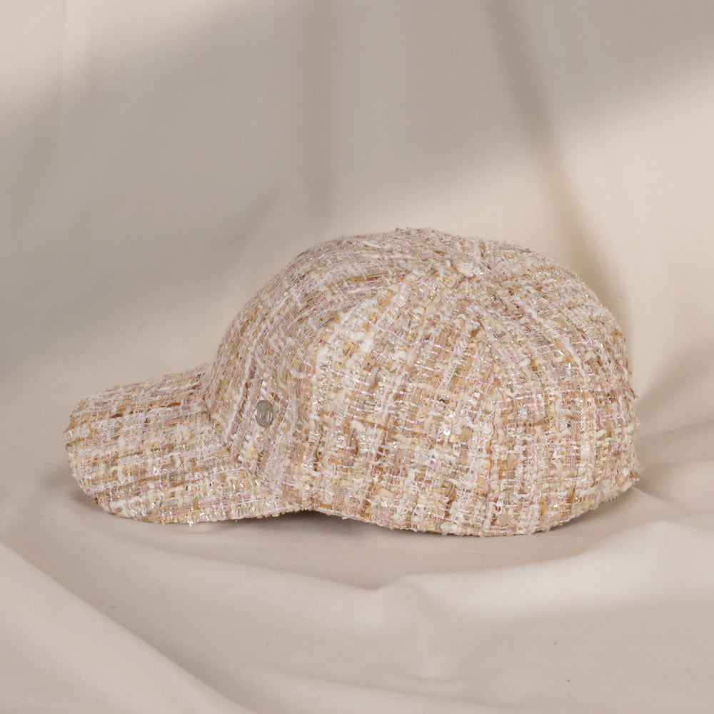Load image into Gallery viewer, Allisa Gold White Hat
