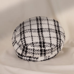 Audre White Military Hat
